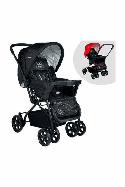 Bh-755 Titanic Two Way Baby Stroller with Tray Black 007-023-001