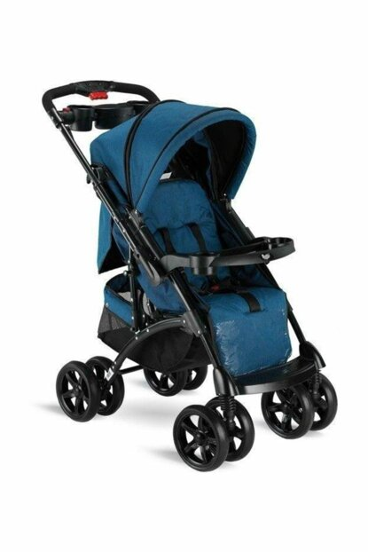 Babyhope Bh-609 Polo Two Way Baby Stroller Blue / 353106-00014_R035