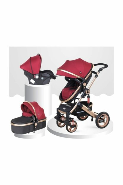 Queen 3 In 1 Travel System Baby Carriage 000056