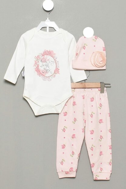 6-9 Months Baby Girl Luxury Set With Roses 13795 13792