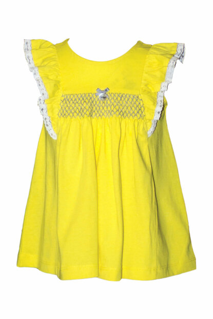 Yellow Girl Dress 81M2AHU36