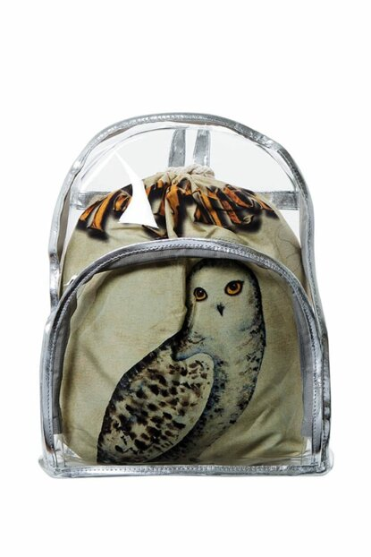Transparent Backpack Harry Potter Owl with Inner Bag BHP1895