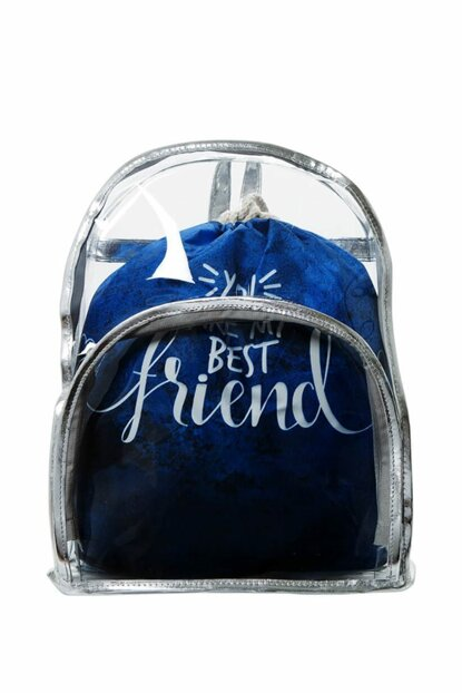 Transparent Backpack Best Friend With Inner Bag BHP1899