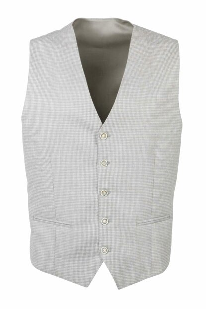 Men's Green Vest 5 Button 19-0108 2320C0910108