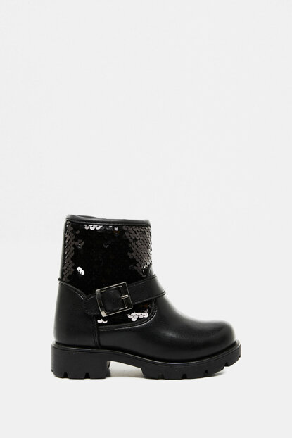 Boots With Sequins Detail 9KKG20725AA