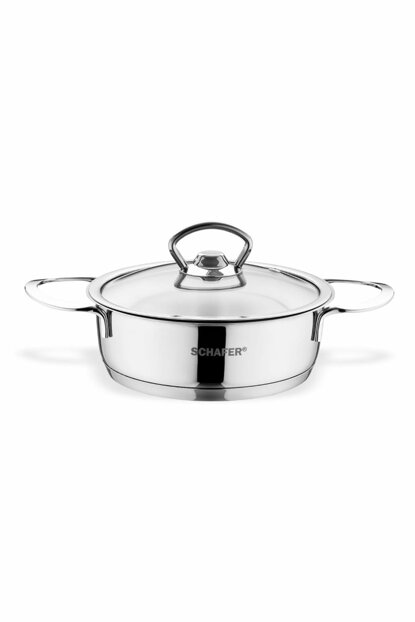 Mini Flattened Steel Saucepan - 12 cm - 2 Pieces SHF37924