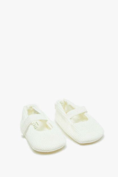 Ecru Baby Girl Loafers 9KMG22048AA