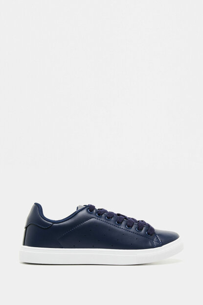 Men's Mixed Lace-up Shoes 9KAM28004AA