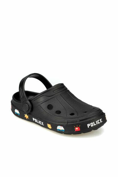 RIBAS Black Boys Slippers 000000000100372668