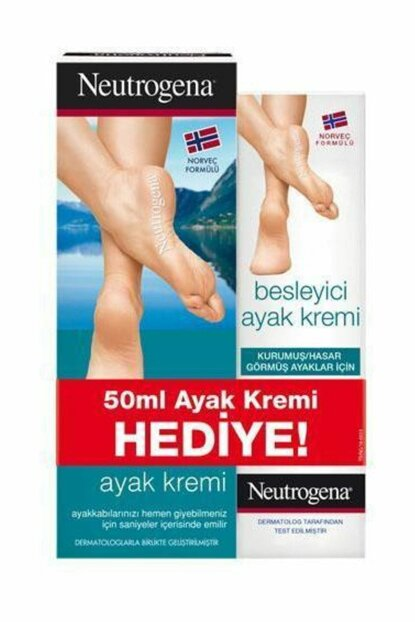 Fast Absorbed Foot Cream 100ml + Gift Foot Care Cream 50ml NEUK7056