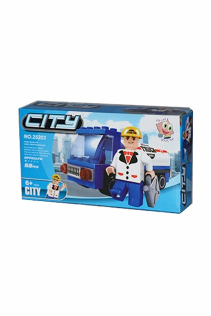 Lego Bricks 59 Piece City Set 026Z.39730