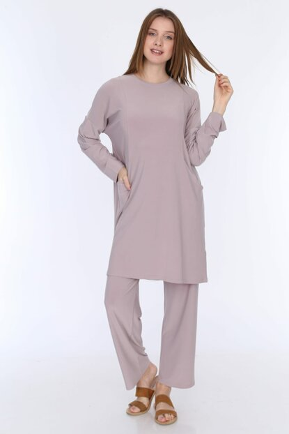 Women's Mink Sandy Pants Suit 5259