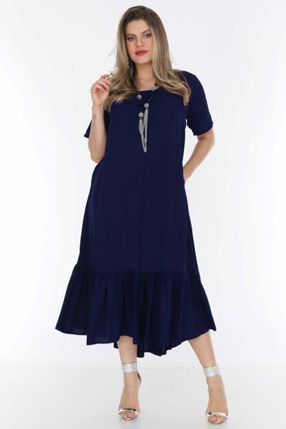 Women's Navy Blue Dress 1569