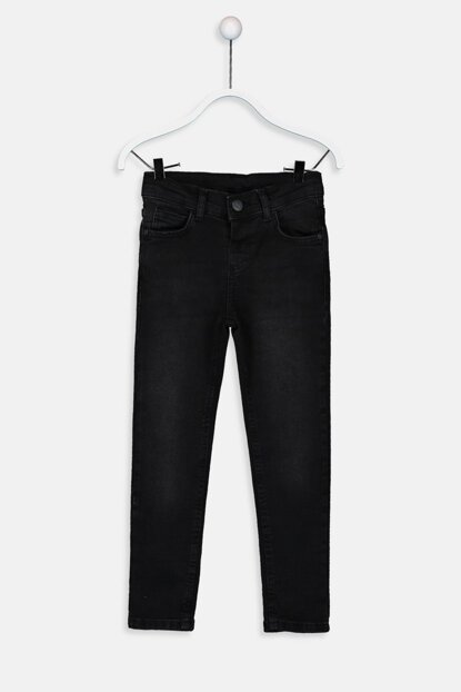 Boys Black Rodeo Trousers 9W0858Z4