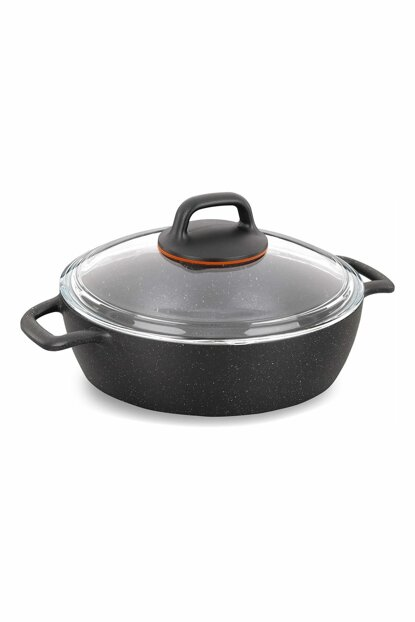 Gusto Gusto 26 Cm Volcanic Short Cookware 9080101A1365