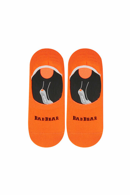 Bad Bear Men's Core Zero Neon Neon Orange Socks 18.01.02.021-C49
