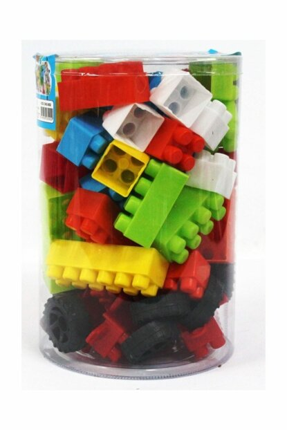 Sea Toy Lego Set 72 Pieces With House And Car Material 8699052030022