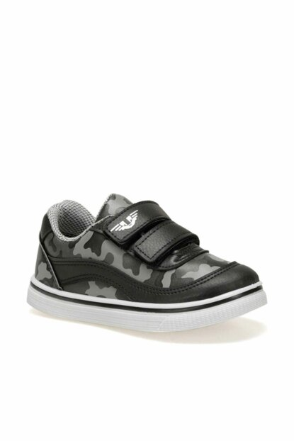 KASANGA.19F Black Boys Shoes