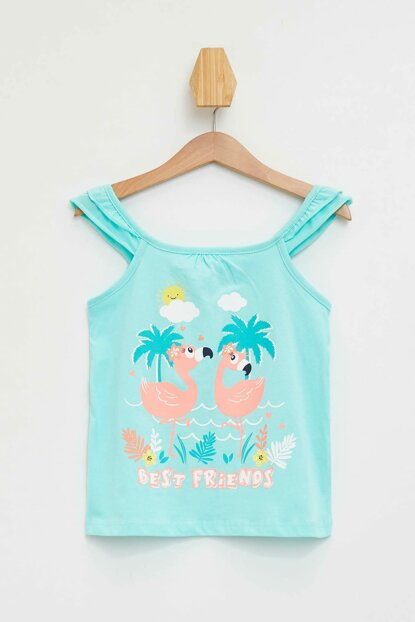 Turquoise Baby Girl Neon Printed Body L2914A2.19HS.TR156