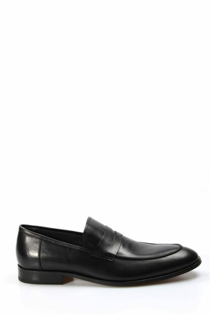 Genuine Leather Black Men Classic Shoes 1849962