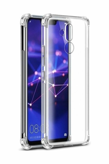 Rich Shop Huawei Mate 20 Lite Case Ultra Thin Transparent Airbag Silicone - And Screen Protector MATE20LITEFRAP-CAM