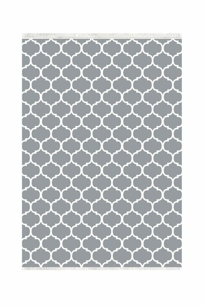 K270 Mug Gray Decorative Washable Carpet