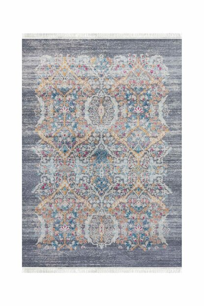 V214 Vintage Decorative Washable Carpet