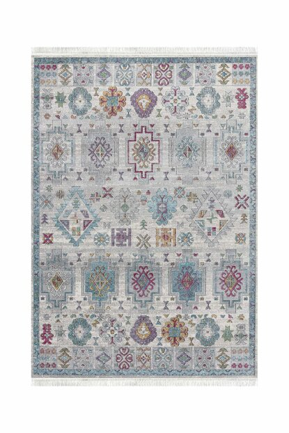 V212 Vintage Decorative Washable Carpet