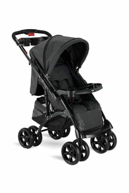 Babyhope Bh-609 Polo Two Way Baby Stroller Black / 353106-00014_R001