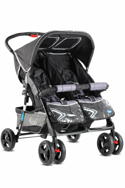 Babyhope Twin Baby Stroller Side by Side PL / PL TWIN Stroller-2