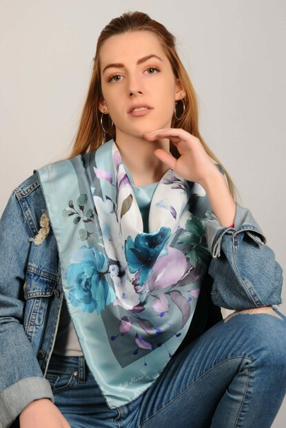 Multicolor Polyester Scarf 9342517445