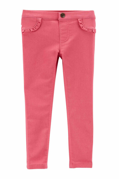 Pink Little Girl Trousers 258H091