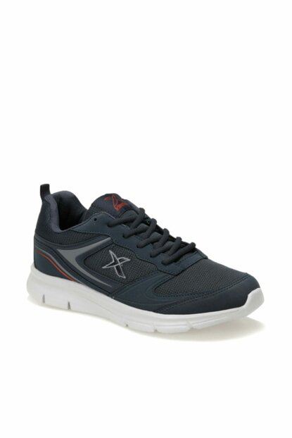 Navy Blue Gray Red Men's Running Shoes 000000000100378811
