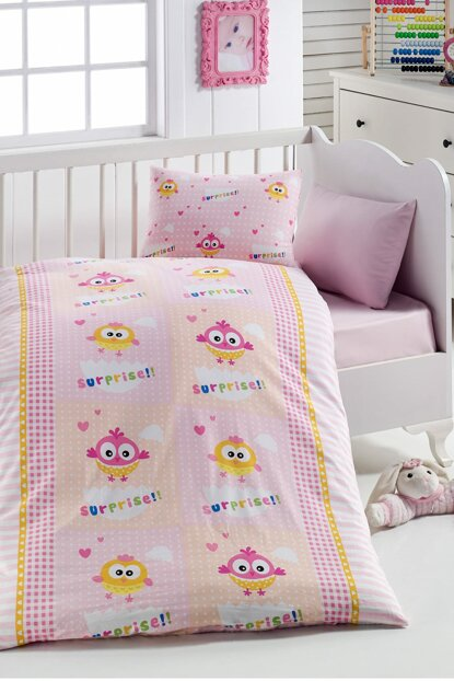 Baby Duvet Cover Set 100% Cotton | Surprise Egg 153-99-001036