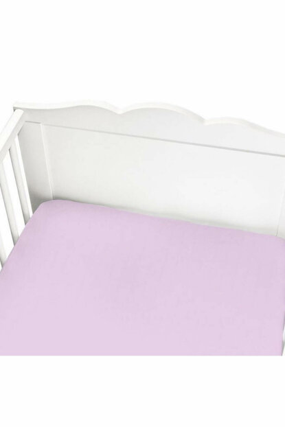 Momeasy Muslin Rubber Sheets 70X140 Cm Pink / 40046