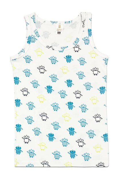 Boys Patterned Tank Top 31426