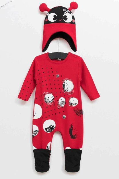 Wogi Baby Jumpsuit Hat Set of 2 3-18 Months 5368 WG5368