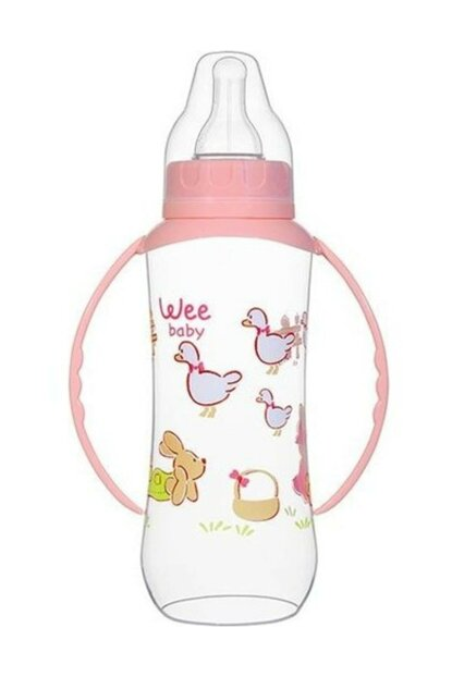 Wee Baby 745 Pp Plastic Feeding Bottle With Handle 270 ml 8690797107454