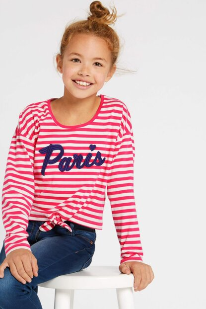 Pink Girls' Pure Cotton Top T74002078V