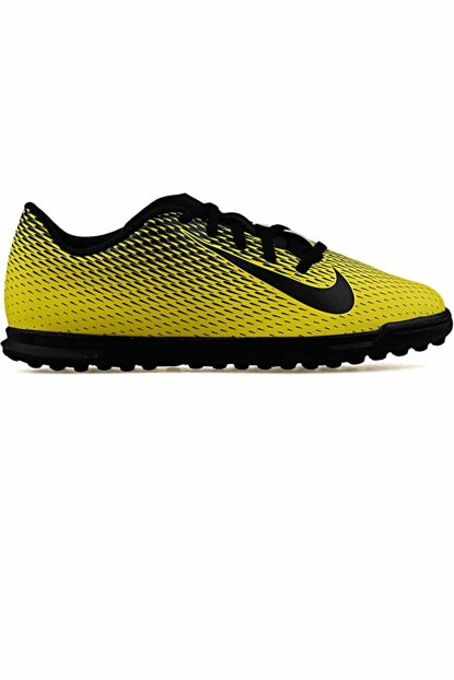 Yellow Nike 844440-701 Bravatax III Tf Carpet Shoes
