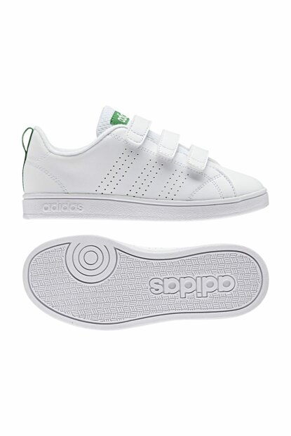 White Green Unisex Sport Shoes Vs Adv Cl Cmf AW4880