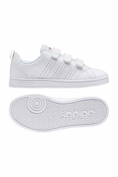 White Unisex Shoes Vs Adv Cl Cmf C BB9978