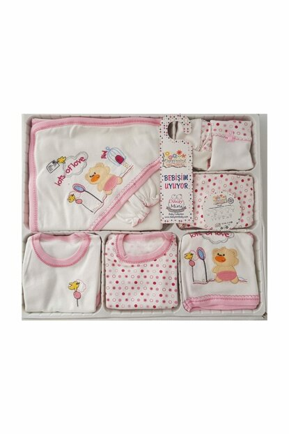 Pink Baby Girl 11 Pieces Hospital Outlet FYZM1176