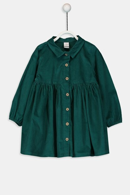 Baby Girl Medium Green H1N Dress 9W2046Z1