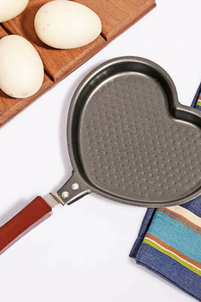 Teflon Heart Shaped Egg Pan Mfk-0113 2016ST0212224 View larger image