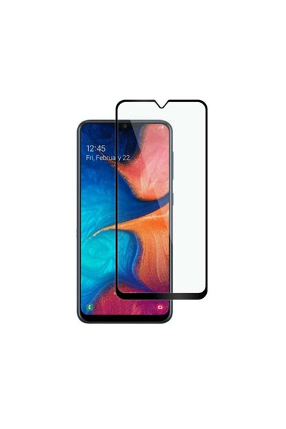 Galaxy A20 Curved Full Covering 9D Screen Protector Film A20-9D-BLACK