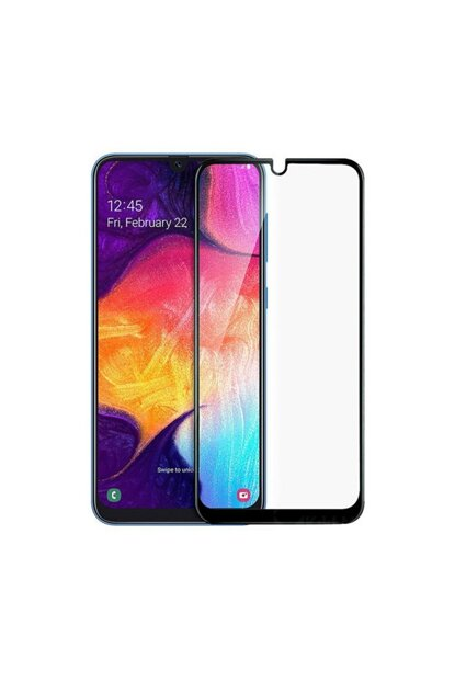 Galaxy A50 Curved Full Covering 9D Screen Protector Film A50-9D-BLACK