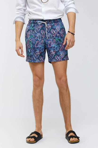 Men's Navy Blue Sea Short - A91Y3801