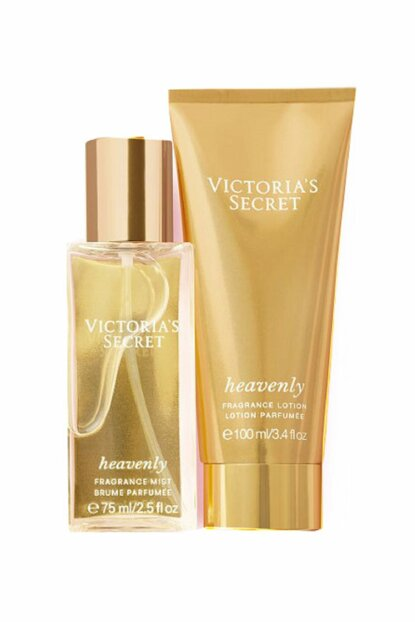 Heavenly 75ml Body Spray + 100ml Body Lotion Women Perfume Set 667548365680