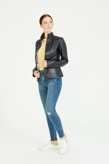 Arwen Leather Coat (Women) BD00114